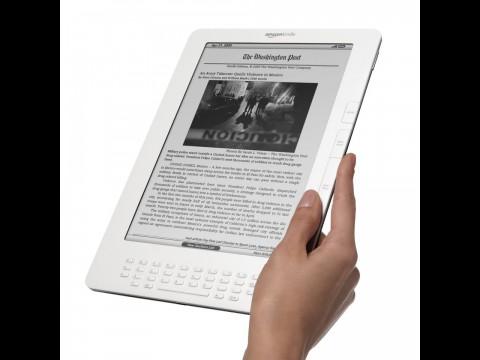 Kindle DX: Bekommt der Nachfolger einen Farbbildschirm und WLAN? (Foto: Amazon)