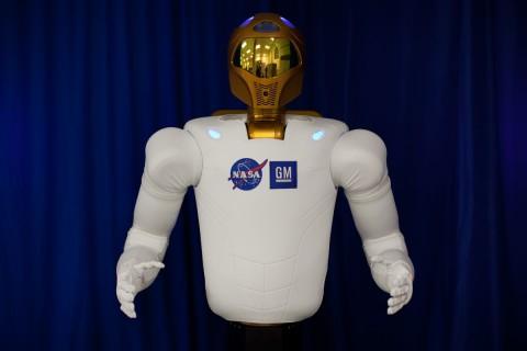 Robonaut 2 ist eine Gemeinschaftsentwicklung von Nasa und GM (Foto: Nasa)