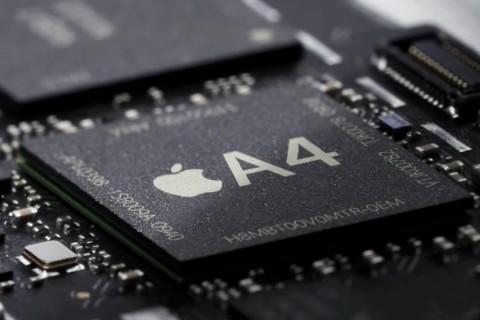 So zeigte Apple den A4 im iPad-Video mit nichtssagenden Beschriftungen