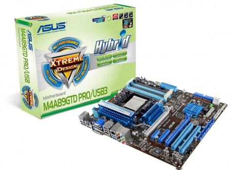 Asus-Mainboard M4A89GTD Pro/USB3
