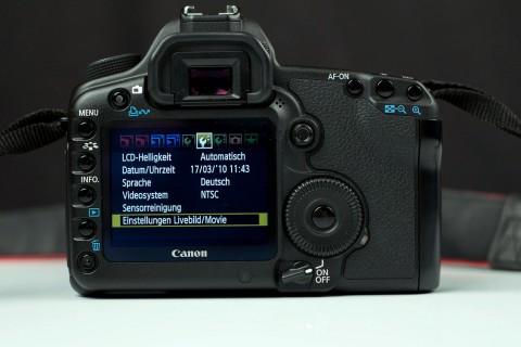 Canon EOS 5D Mark II - Firmwareupdate 2.0.3
