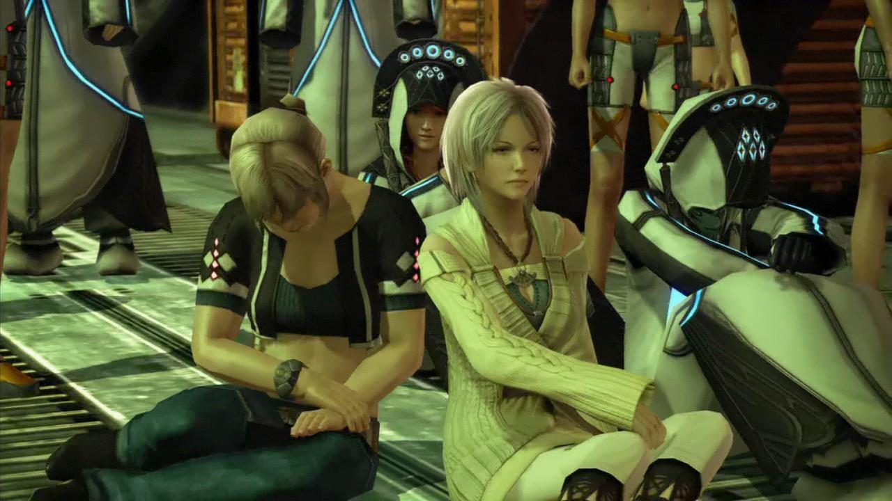 Grafiktest: Final Fantasy 13 - Playstation 3 vs. Xbox 360 - Videosequenz: Xbox 360