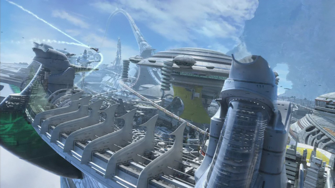 Grafiktest: Final Fantasy 13 - Playstation 3 vs. Xbox 360 - Intro: Xbox 360