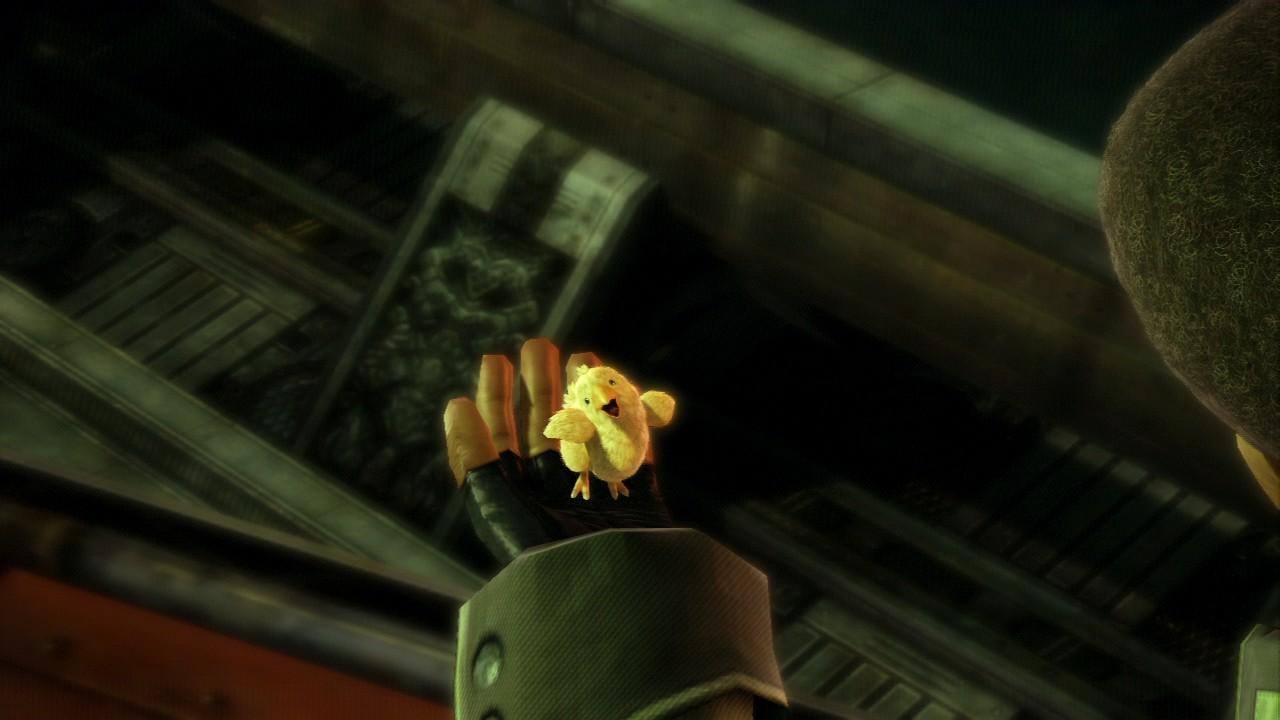 Grafiktest: Final Fantasy 13 - Playstation 3 vs. Xbox 360 - Engine: Playstation 3 (Chocobo mit Schatten)