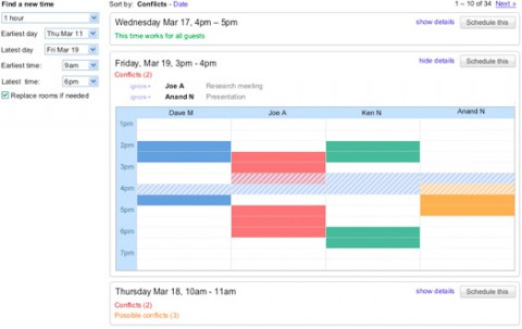 Google Calender - Smart Rescheduler