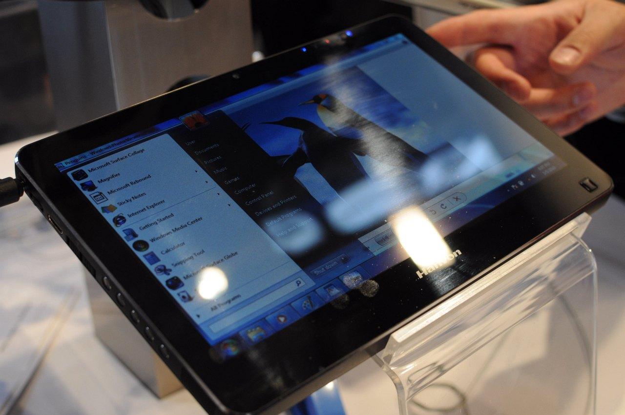 Hanvon zeigt iPad-Konkurrent mit Windows 7 -