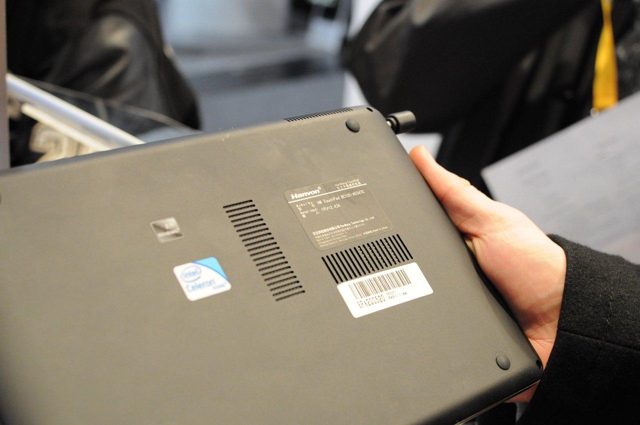 Hanvon zeigt iPad-Konkurrent mit Windows 7 - Hanvons Multitouch-Tablet
