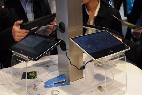 Beide Tablets nebeneinander
