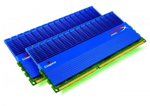 Kingstons HyperX-Module für DDR3 mit langen Kühlfinnen