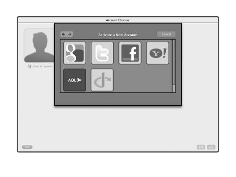 Browser als sozialer Agent: Auswahl des primären Identitätsproviders