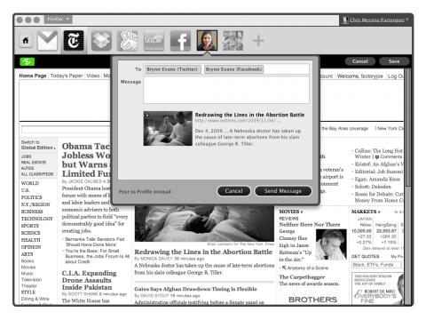 Browser als sozialer Agent