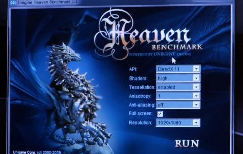 Test von Heaven ohne Tesselation
