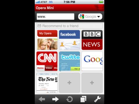 opera mini f r das iphone im app store eingereicht. Black Bedroom Furniture Sets. Home Design Ideas