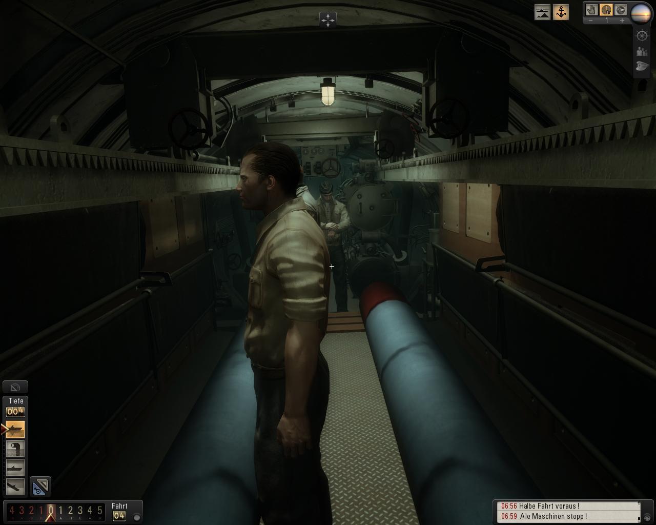 Spieletest: Silent Hunter 5 - spielerische Untiefen -