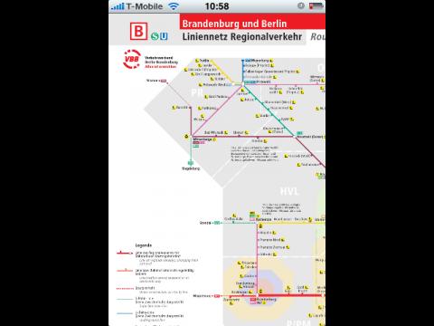 Netzspinnen, hier der Regionalverkehr in Berlin und Brandenburg, ...