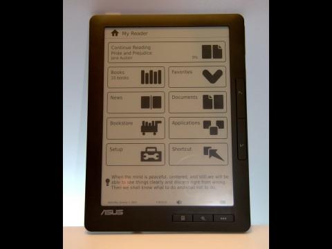 Der E-Book-Reader DR-900 von Asus (Foto: wp)