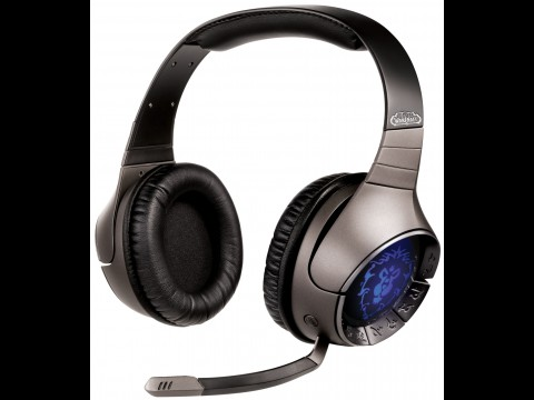 Sound Blaster World of Warcraft Wireless Headset - mit Allianz-Logo