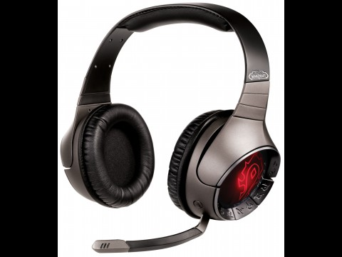 Sound Blaster World of Warcraft Wireless Headset - mit Horde-Logo