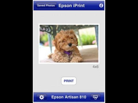 Epson iPrint - Foto-Drucken mit iPhone und iPod touch