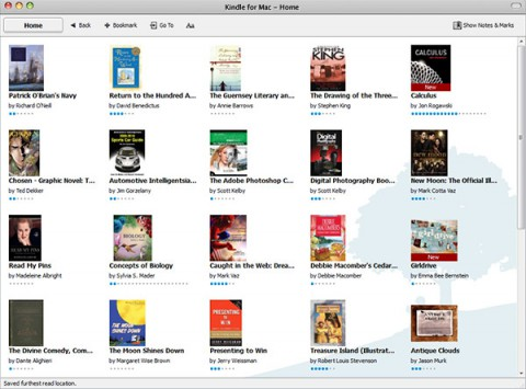 Kindle for Mac - Amazon-E-Books unter Mac OS X lesen