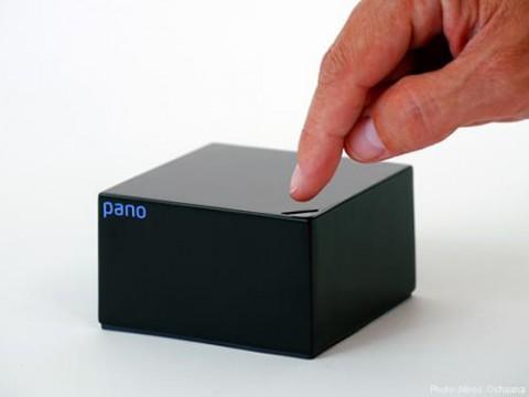 Das Pano Device in Schwarz