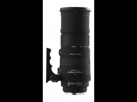 Sigma 150-500mm<br>F5-6.3 DG OS APO HSM