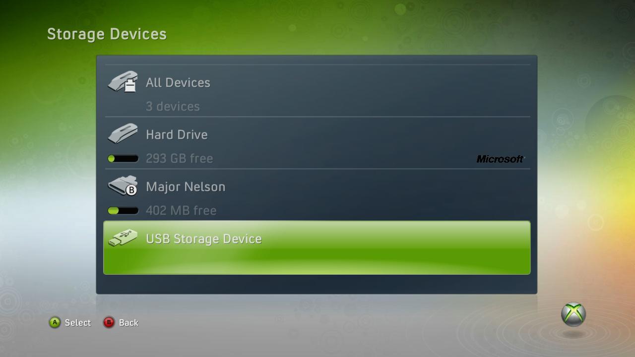 Offiziell: Xbox 360 unterstützt bald USB-Datenträger -