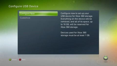 Xbox 360 - Konfiguration von USB-Datenträgern (Quelle: Microsoft/Major Nelson)