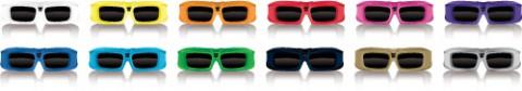 XpanD X103 Home - 3D-Brille für verschiedene Fernsehermarken und einige Kinos