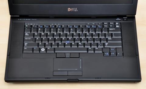 Tastatur des E6510 im Detail
