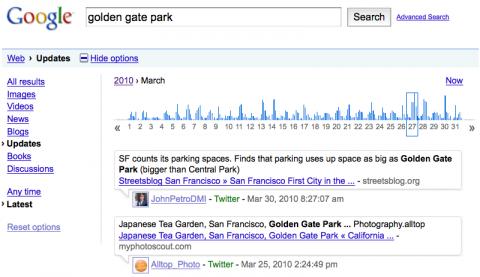 Googles Twitter-Archiv