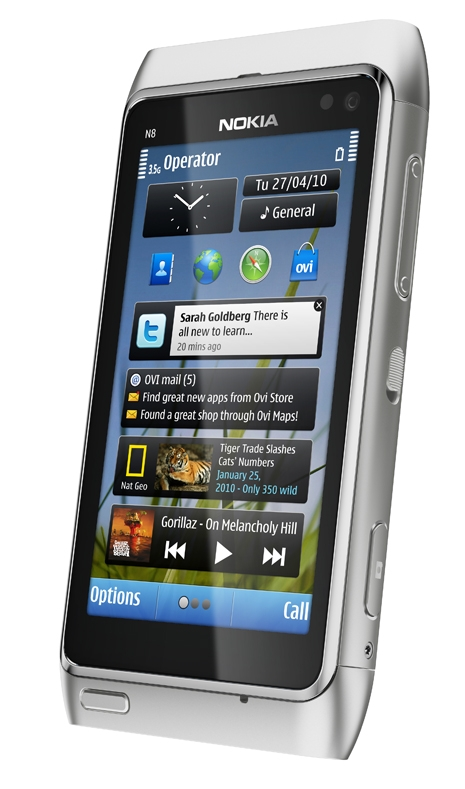 Nokia N8: Symbian-3-Smartphone kann für 480 Euro vorbestellt werden - Nokia N8