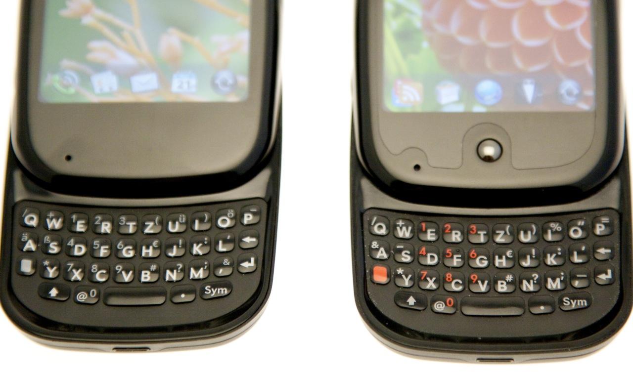 Test: Pre Plus ist das bessere, aber teurere Pre-Smartphone - Tastaturvergleich zwischen Pre Plus und Pre