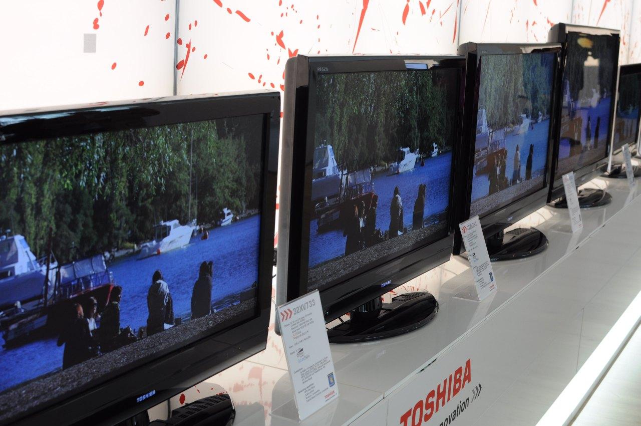 Toshiba: Fernseher mögen Windows 7 und Notebooks streamen - Viele Fernseher von Toshiba, ...