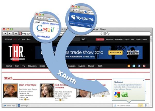 XAuth verrät, wer welche Dienste nutzt - Illustration von XAuth