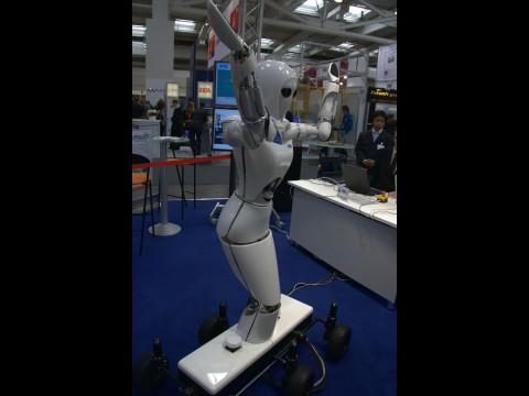Aila, die Roboterdame aus Bremen (Foto: wp)
