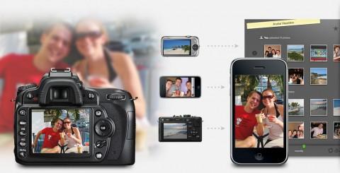 Divvyshot - verschiedene Fotoapparate und Fotohandys, verschiedene Menschen, eine gemeinsame Reise und ein  gemeinsames Fotoalbum