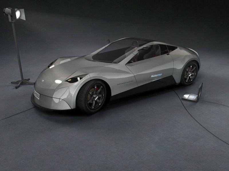 Finnischer Elektrorenner wird in nur zehn Minuten geladen - Era ist ein elektrisch betriebener Sportwagen, ... (Bild: Raceabout Association)
