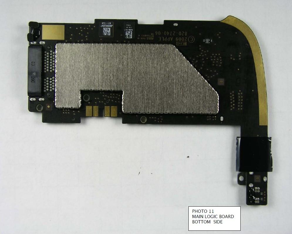 Das iPad von innen - dank FCC (Update) - iPad von innen (Quelle: FCC)