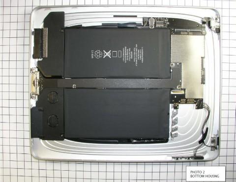 iPad von innen (Quelle: FCC)
