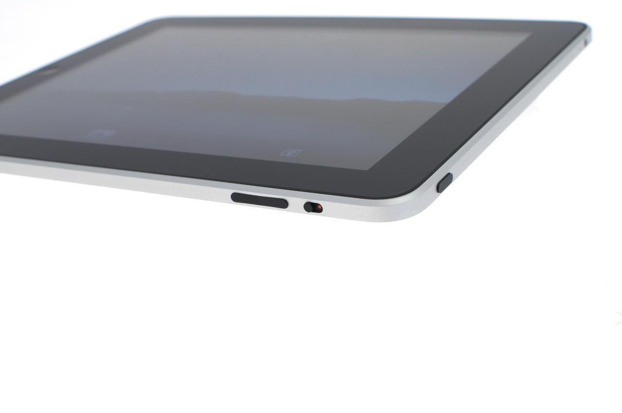 Test: iPad - beeindruckend, aber nicht magisch - ... der es erlaubt, die Bildschirmorientierung festzusetzen. Oben ist der An- und Ausschalter.