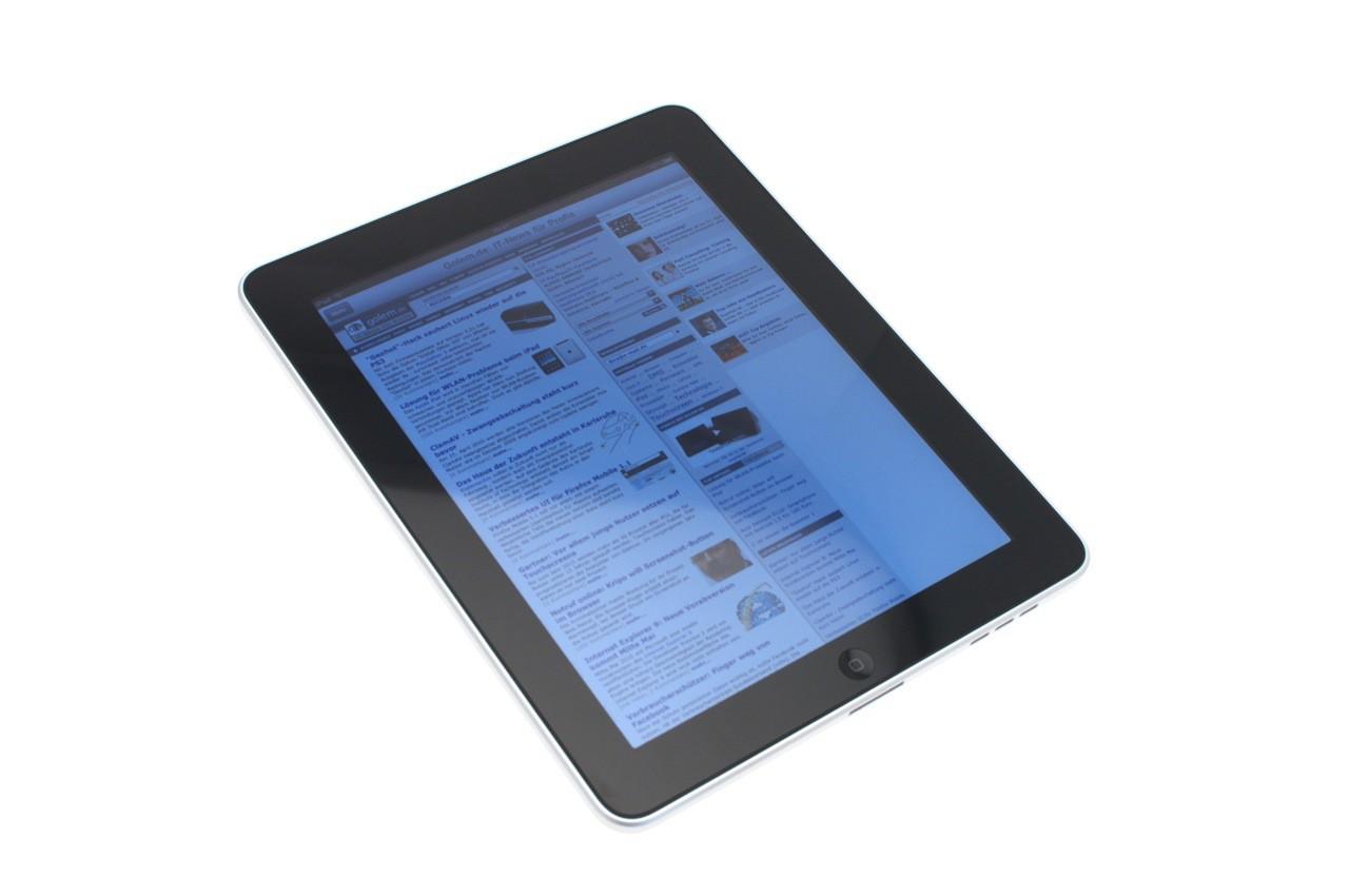 Test: iPad - beeindruckend, aber nicht magisch - IPS-Panel im Lichtzelt mit maximaler Helligkeit