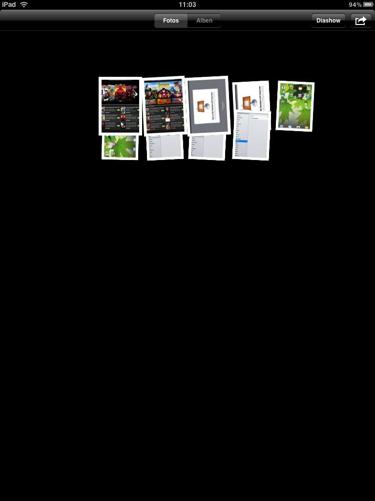 Test: iPad - beeindruckend, aber nicht magisch - Fotos, hier per Multitouch aufgezogen