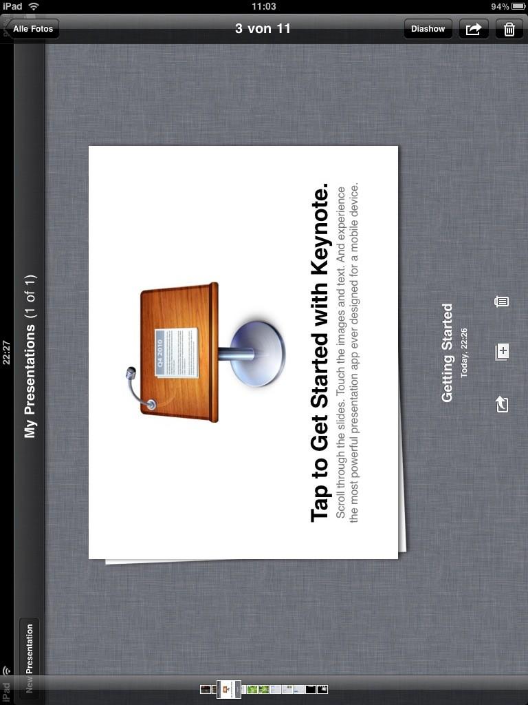 Test: iPad - beeindruckend, aber nicht magisch - Keynote