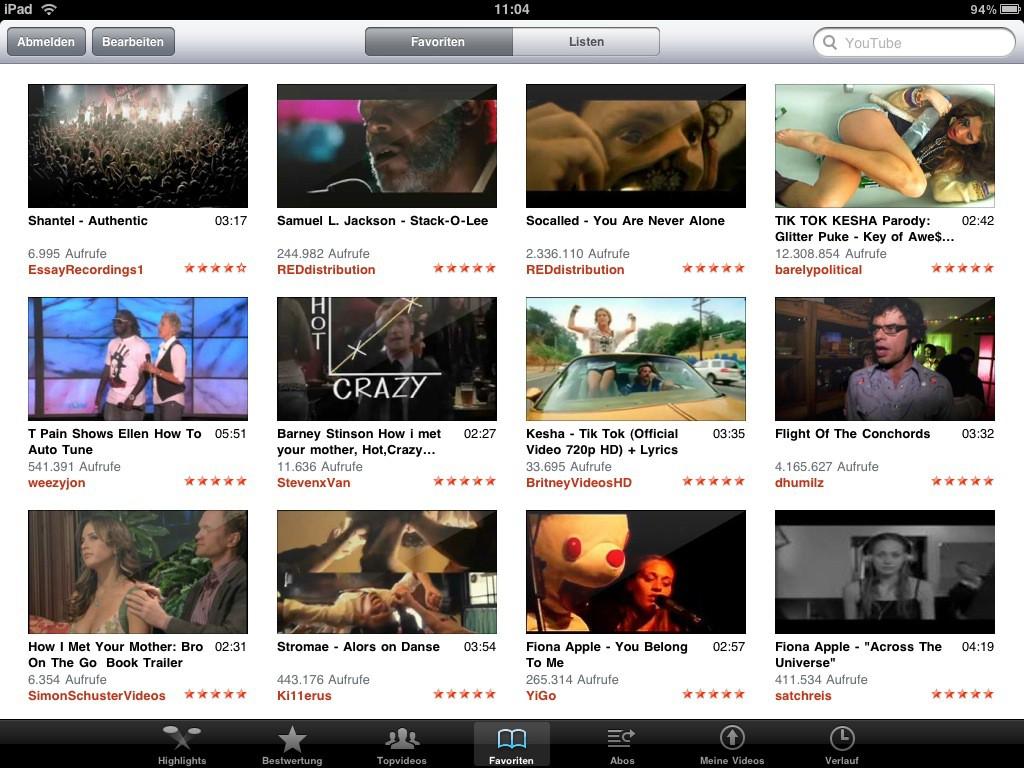 Test: iPad - beeindruckend, aber nicht magisch - Youtube