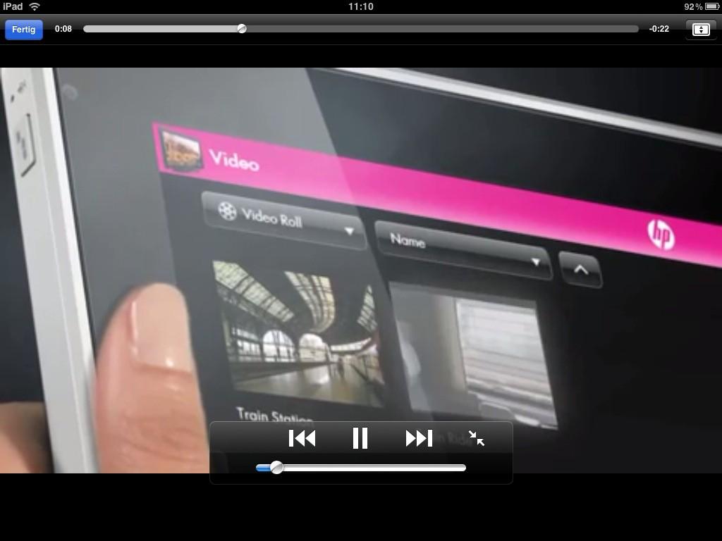 Test: iPad - beeindruckend, aber nicht magisch - ... oder aufgezogen abgespielt werden.