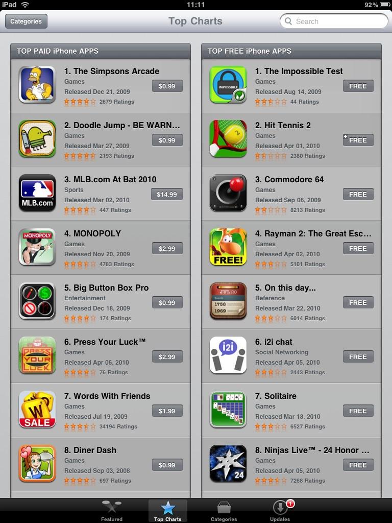 Test: iPad - beeindruckend, aber nicht magisch - und iPhone-Apps