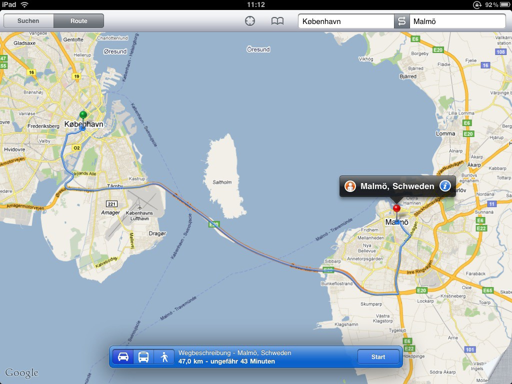 Test: iPad - beeindruckend, aber nicht magisch - Navigation mit dem Auto ...