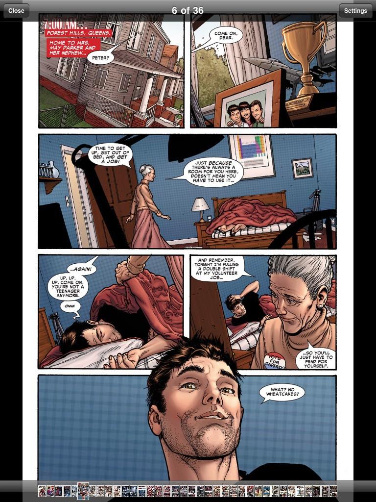 Test: iPad - beeindruckend, aber nicht magisch - Marvels Comic-App