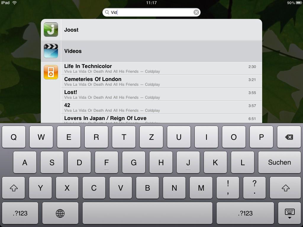 Test: iPad - beeindruckend, aber nicht magisch - Tastatur des iPads